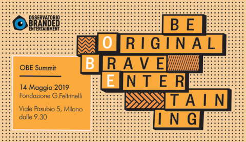 BE ORIGINAL, BRAVE, ENTERTAINING – Dati, mercato, international keynote speaker. E una Masterclass di FUSE con Alessandro Baricco