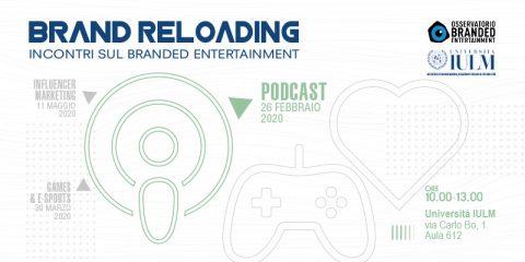 Brand Reloading – incontri sul Branded Entertainment: Podcast
