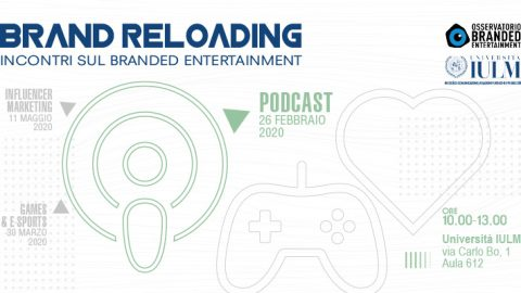 Brand Reloading – incontri sul Branded Entertainment: Podcast
